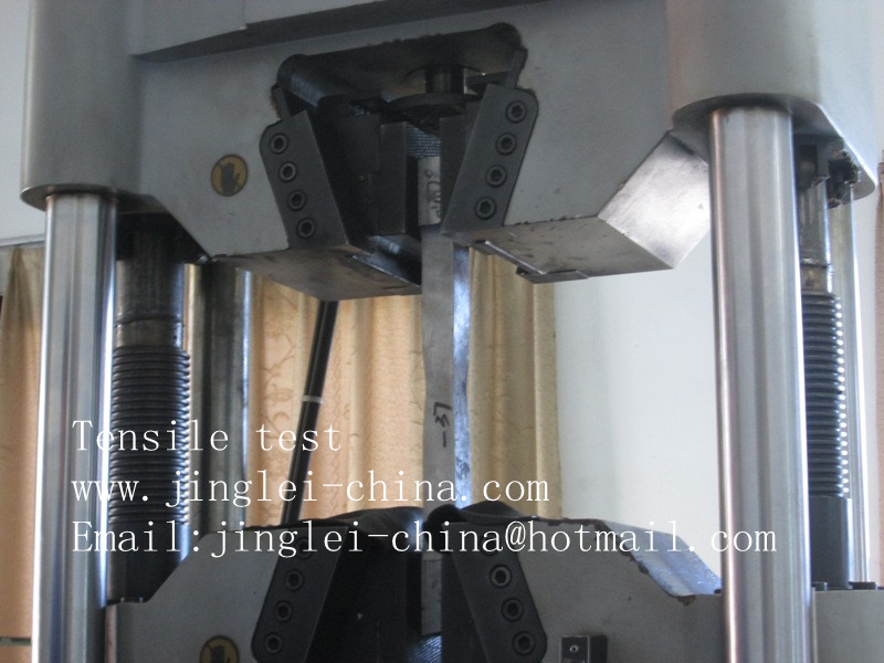 clad plate tensile test