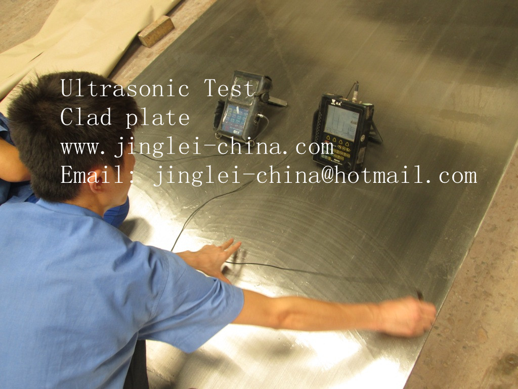 Ultrasonic Test-clad plate